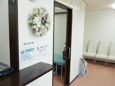 土足でOKの診察室